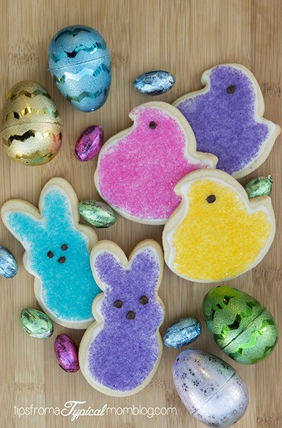 Easter Peep's Cookies with Royal Icing
