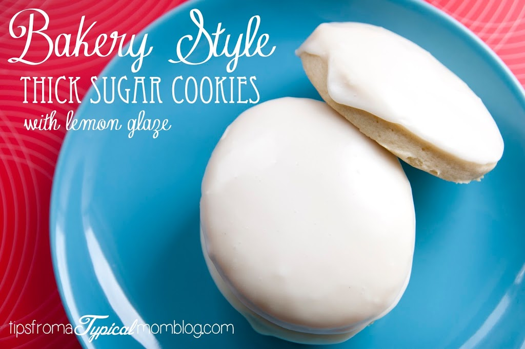 ... Bakery Style Sugar Cookies and the glaze is perfect. From Tips From a