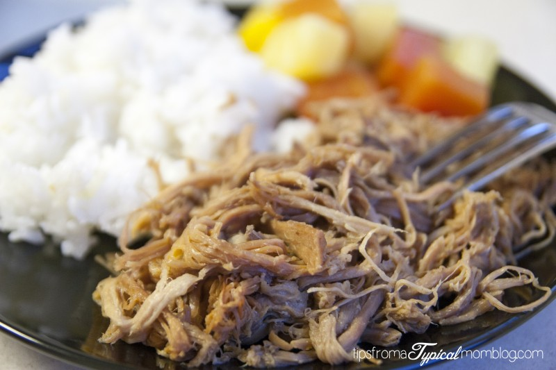 Crock Pot Kalua Pork Dinner - Tips from a Typical Mom