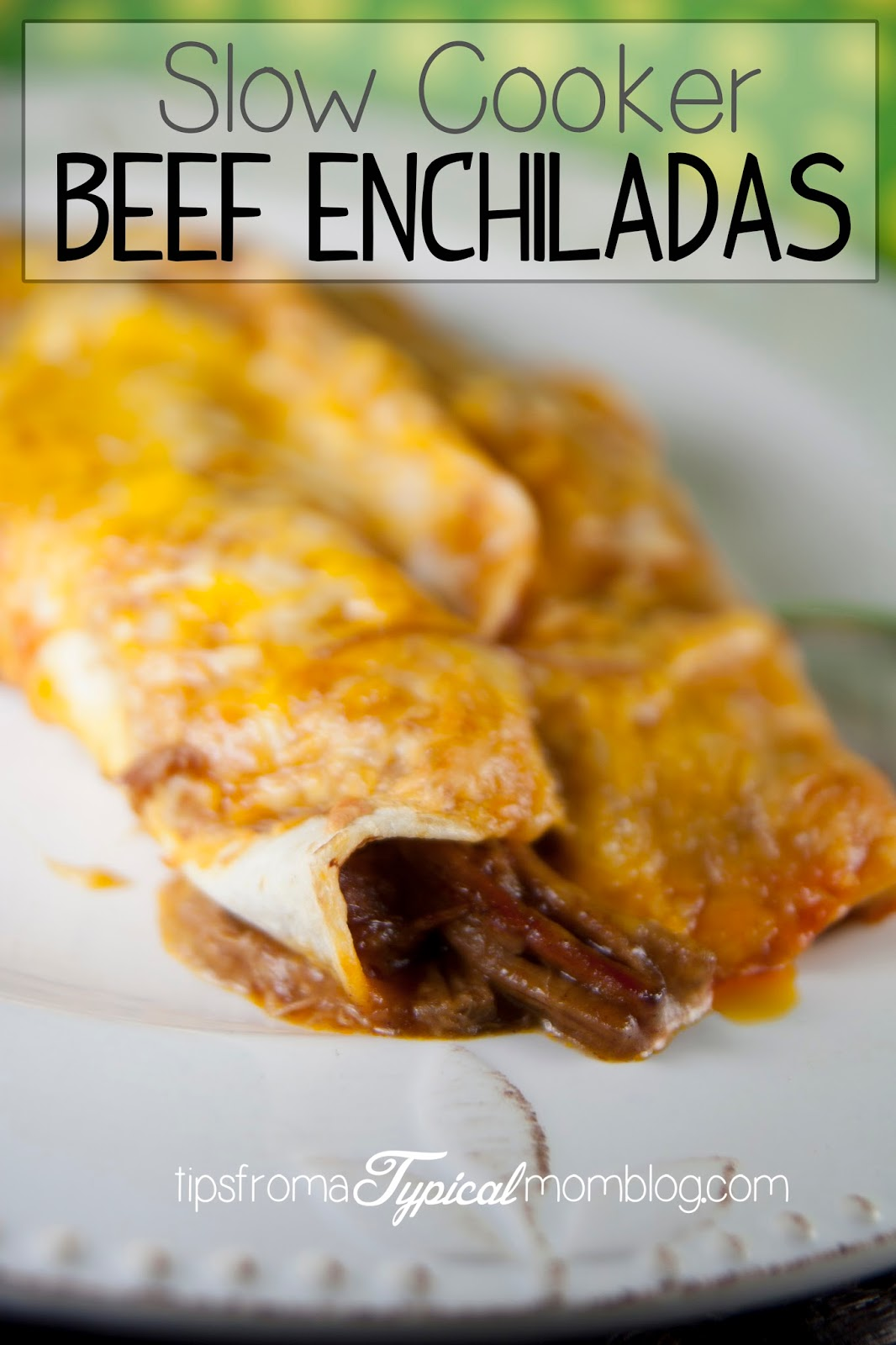 Slow Cooker Beef Enchiladas. Easy, family friendly and perfect for a ...