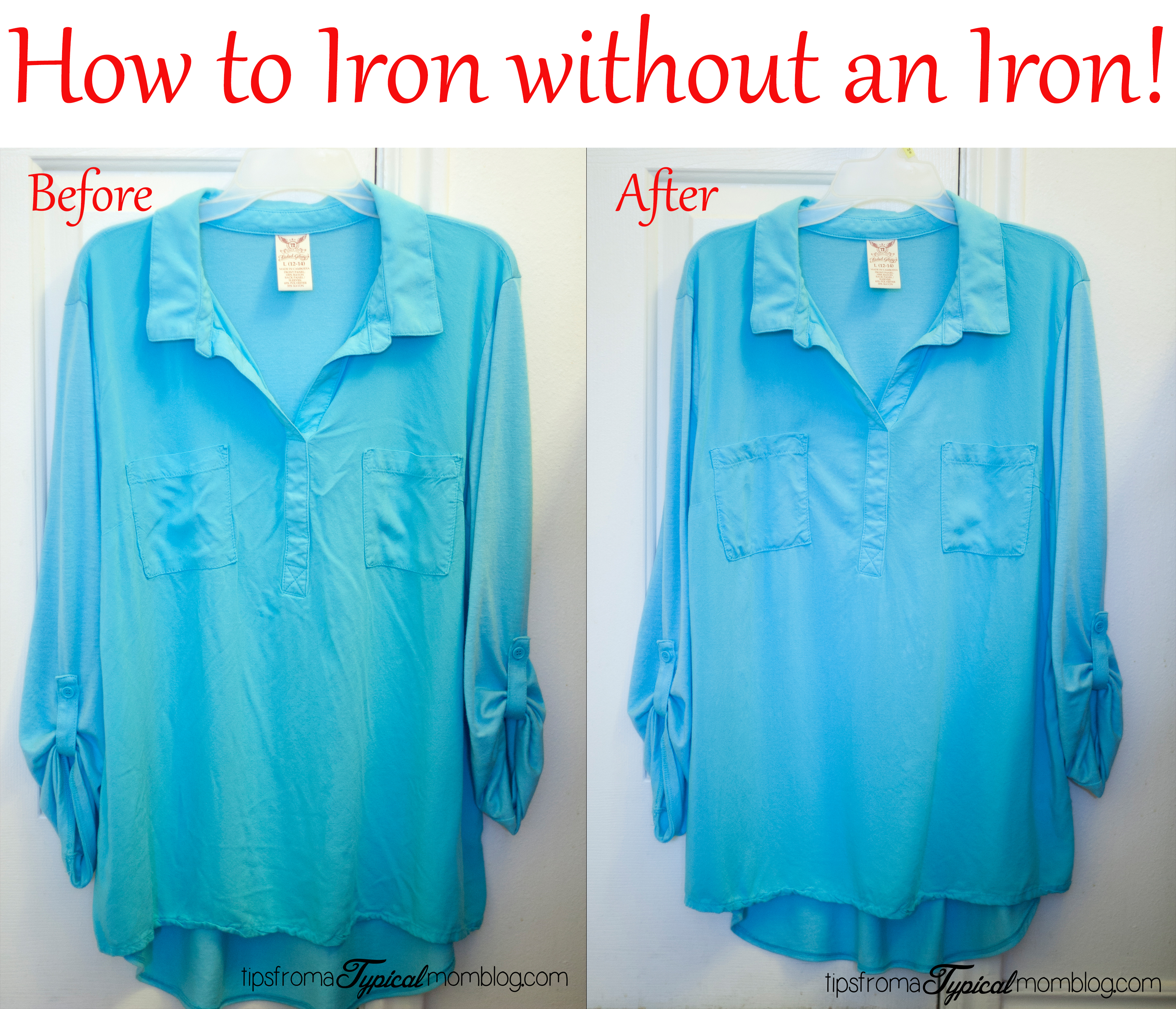 how to iron your shirt without an iron. Black Bedroom Furniture Sets. Home Design Ideas