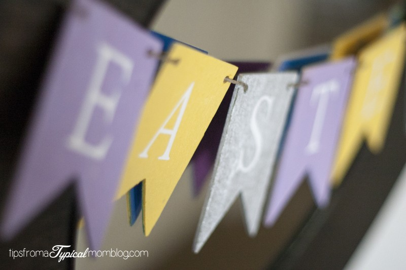 DIY Easter Banner Craft