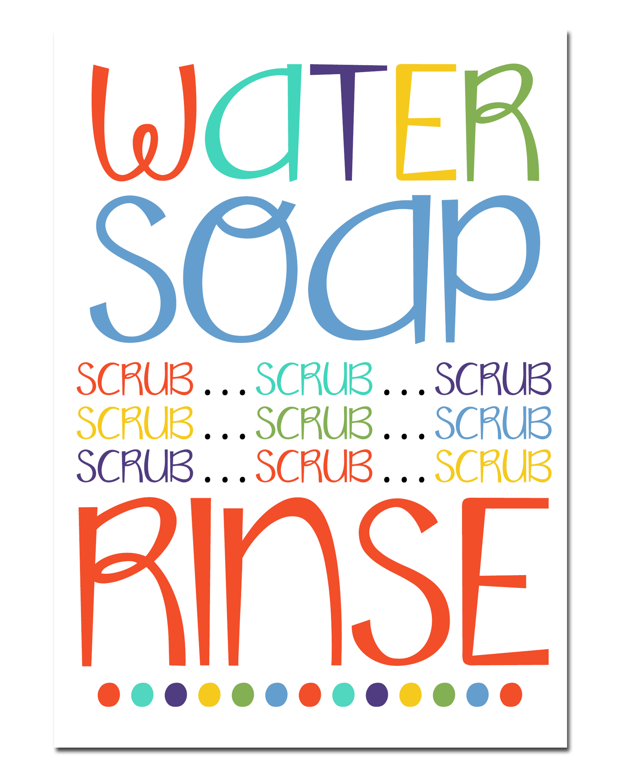 It's just a photo of Fabulous Free Printable Hand Washing Signs