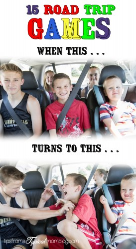 15 Road Trip Games for Kids