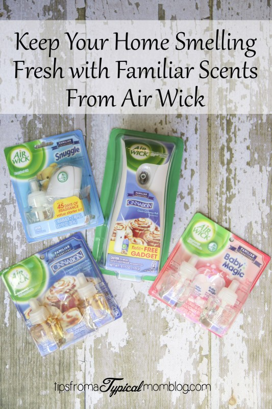Keep Your Home Smelling Fresh With Familiar Scents From Air Wick