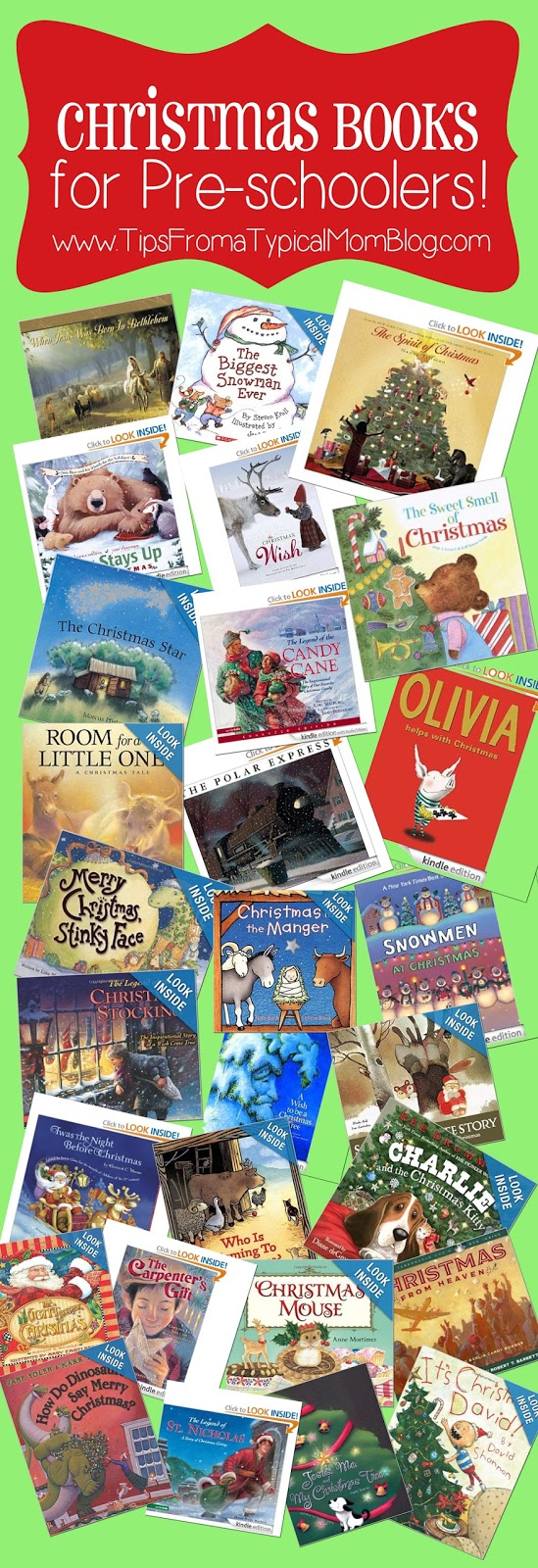 Preschool Christmas Book List Tips From A Typical Mom