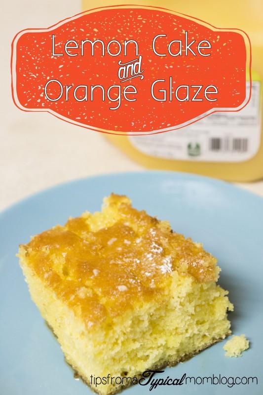 how to make orange glaze for cake