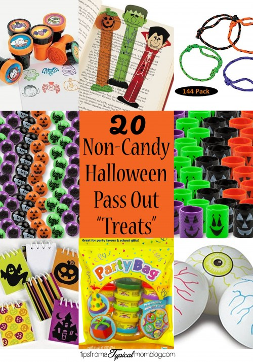 20 Ideas For Non Candy Halloween Pass Out Treats