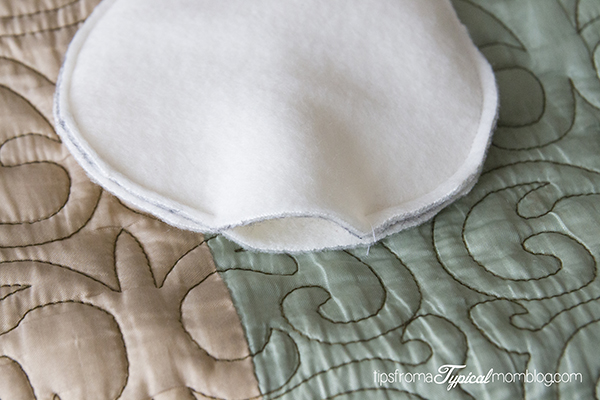 Homemade Microwaveable Snowman Heating Pad