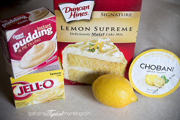 Recipe Cake Mix Lemon Pudding: Lemon Cupcakes With Cake Mix And Pudding