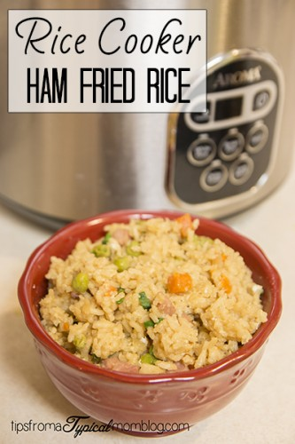 Rice Cooker Ham Fried Rice