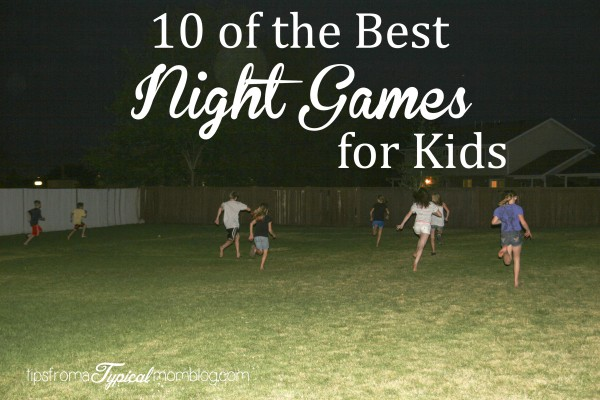 Summer outdoor night games for kids and teens for Fall outdoor activities for adults