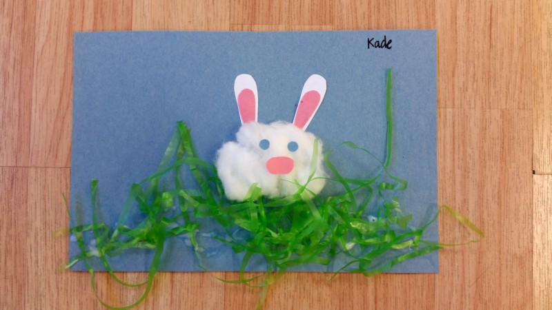 Easy Easter Bunny Craft for Kids