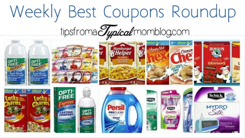 Weekly Best Value Coupon Roundup