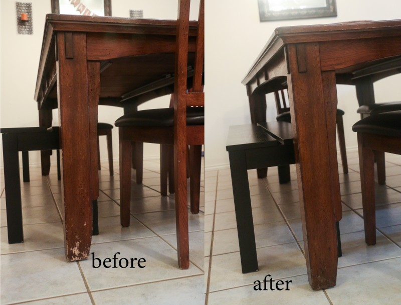 Water Dining Tables ~ Quick fix for water damaged wood dining room tables
