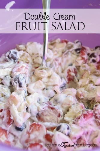 Double Cream Fruit Salad