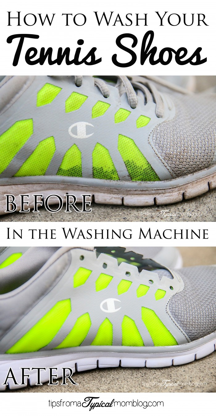 How to wash your tennis shoes in the washing machine - How to clean shoes ...