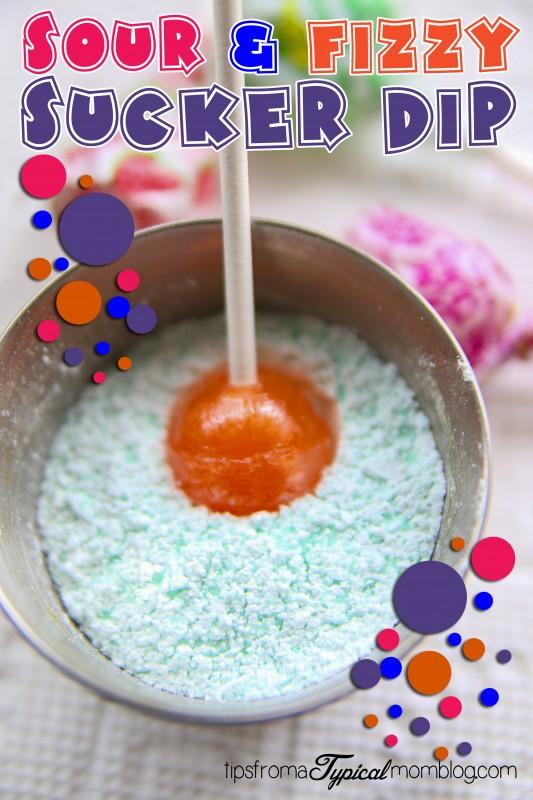 Sour & Fizzy Sucker Dip // Science for Kids