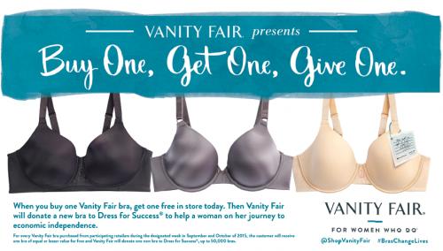 Vanity Fair BOGOGO Sale!