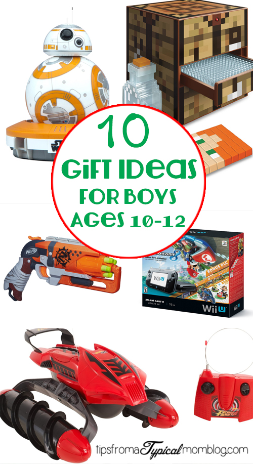 Christmas Toys Age 12 : Gifts for boys ages tips from a typical mom
