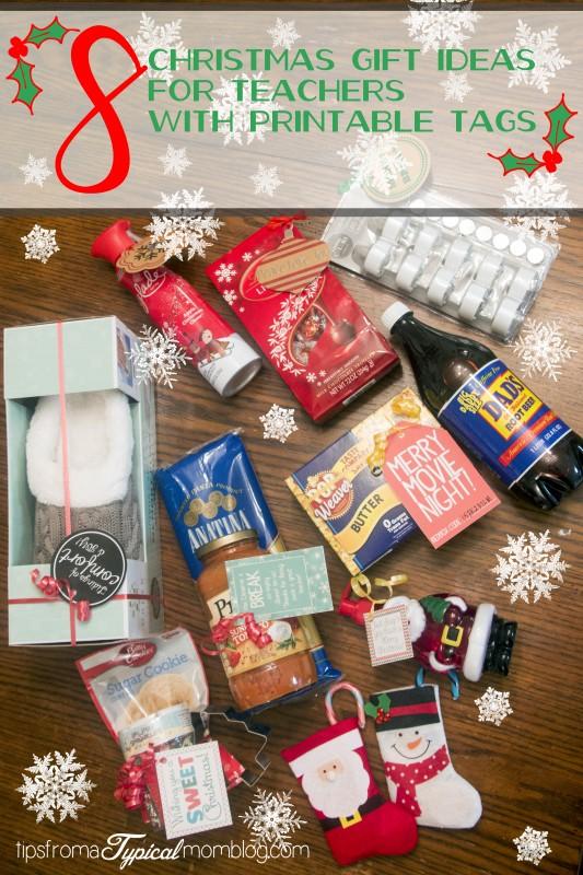 Christmas gift idea for teachers