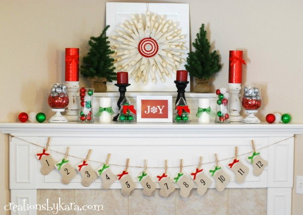 Christmas Mantel Decorations 14 holiday mantel decorating ideas - tips from a typical mom