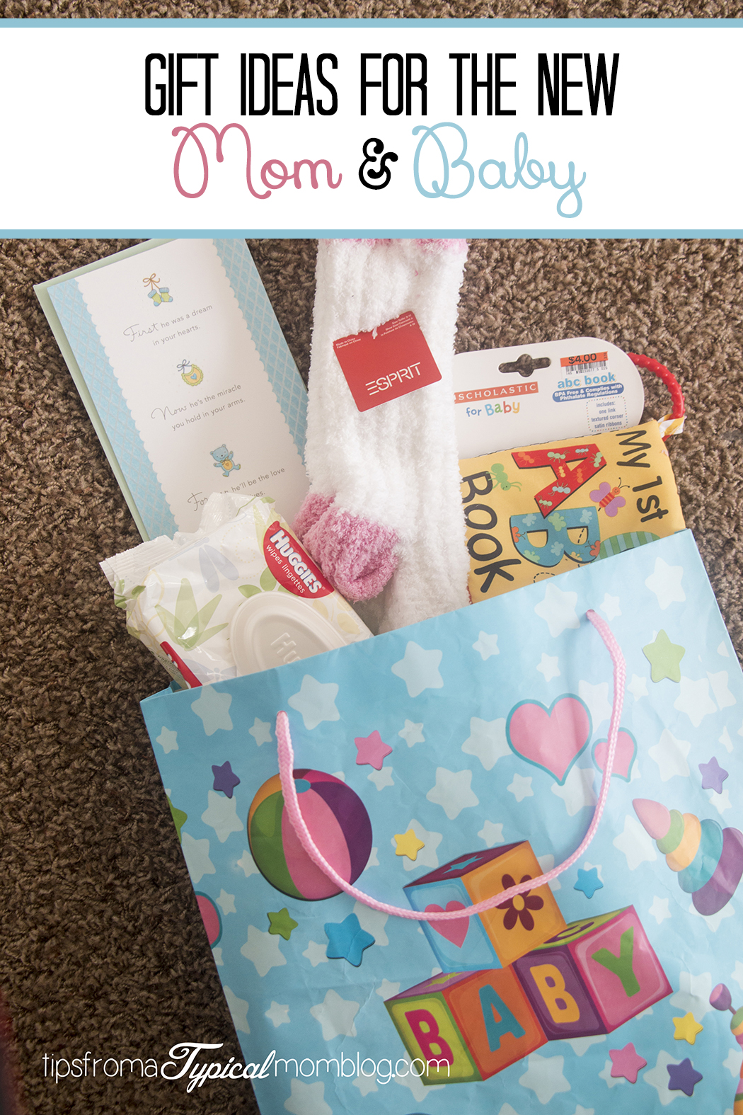 Babys First Christmas Gift Ideas Pinterest : Gift ideas for the new mom and baby tips from a typical