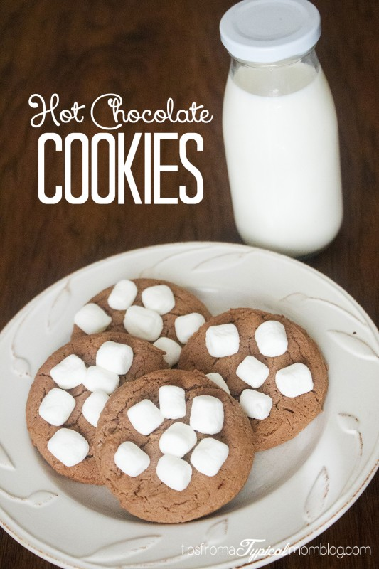 ... when they are hot, and you have the perfect Hot Chocolate Cookie