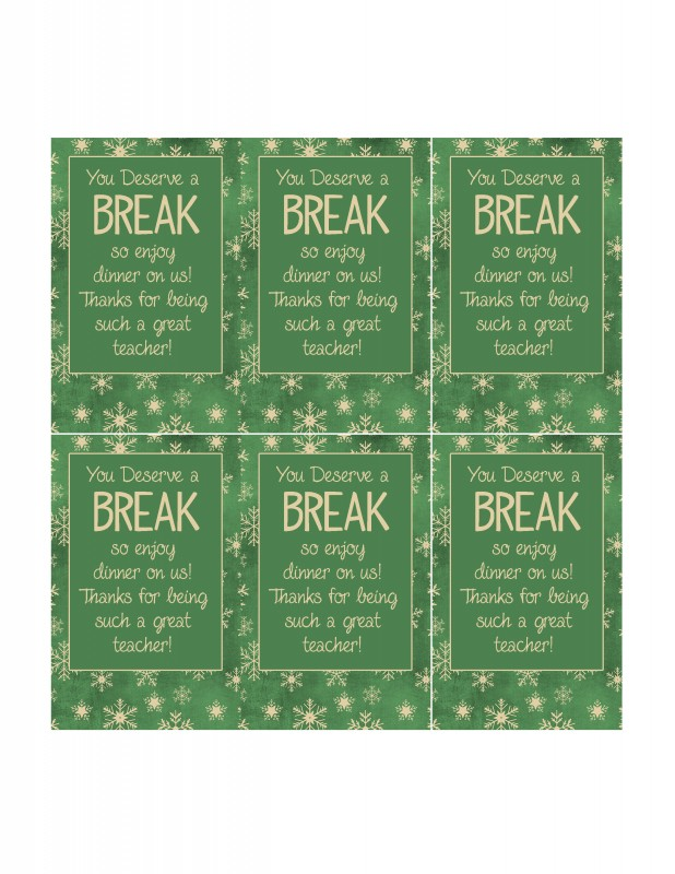 8 Quick and Easy Teacher Christmas Gift Ideas with ...