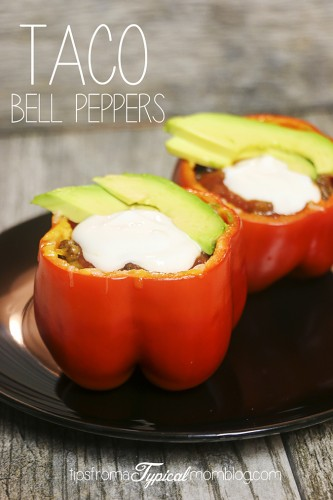 Taco Stuffed Bell Peppers Recipe Video