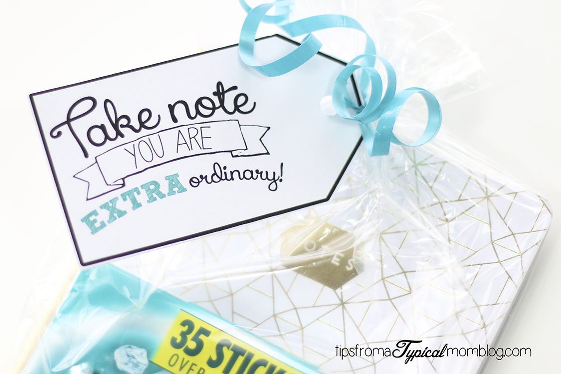 """Say """"Thank You"""" with Extra Gum- Free Printable Gift Tag ..."""