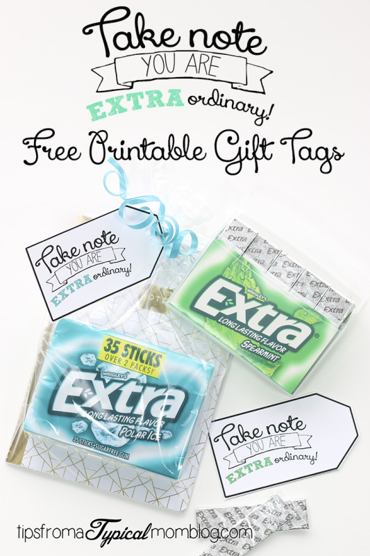 how to make thank you tag with extra gum | just b.CAUSE
