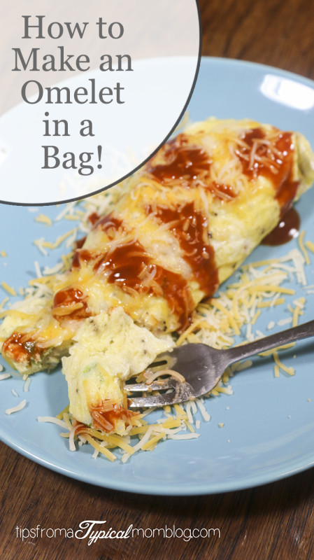 how to make omelette in a ziplock bag