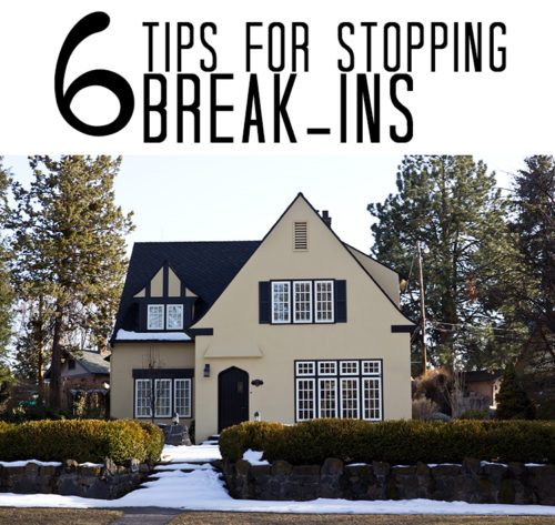 6 Safety Tips for Stopping Break-ins
