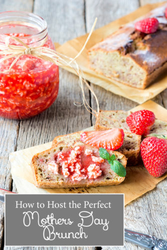 How To Host a Mother's Day Brunch for Your Wife