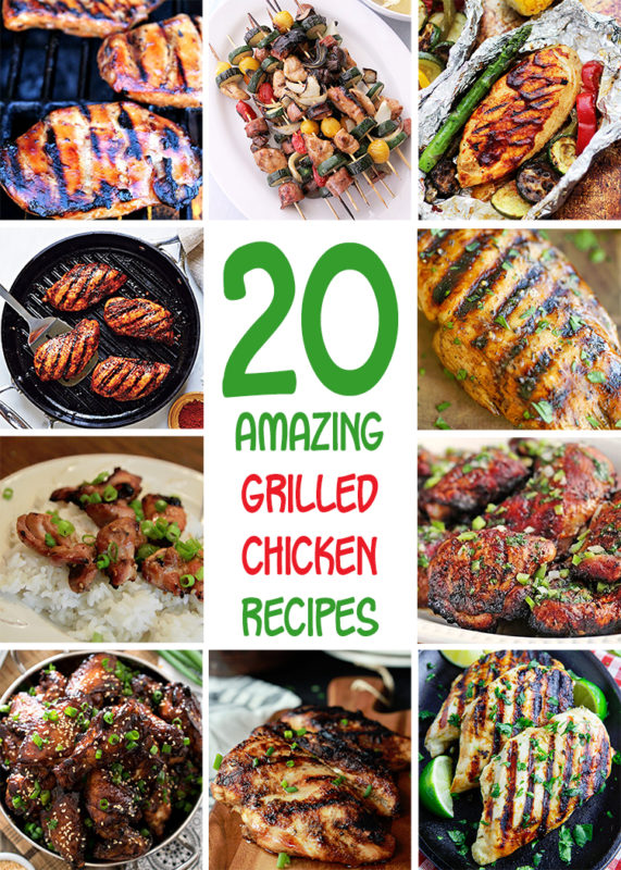 20 Grilled Chicken Recipes for Summer Barbecues