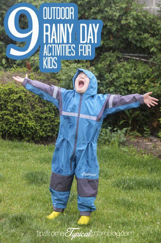 9 Outdoor Rainy Day Activities for Kids