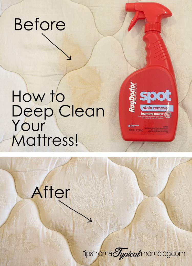 How To Deep Clean Your Mattress Tips From A Typical Mom