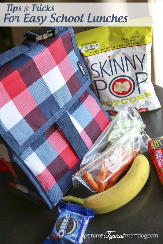 Tips & Tricks for Making School Lunches Easy - Tips from a Typical Mom