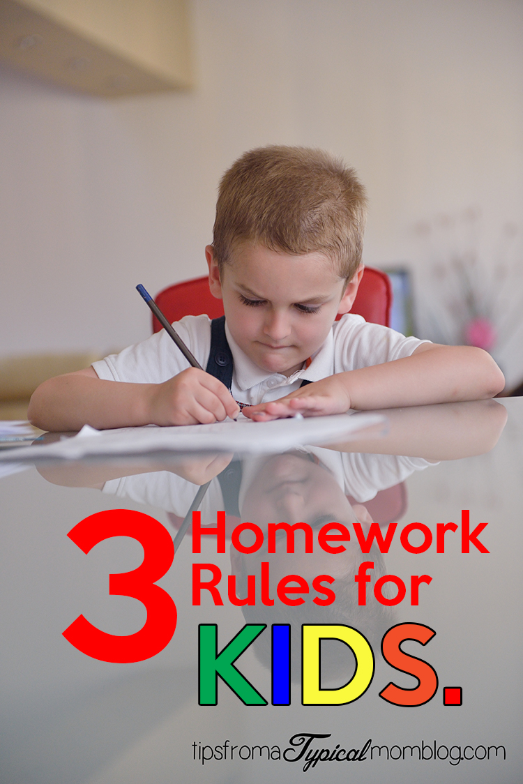 Homework for kids