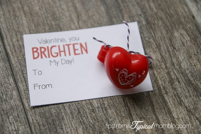 Free Printable Non Candy Valentines For Kids Tips From A