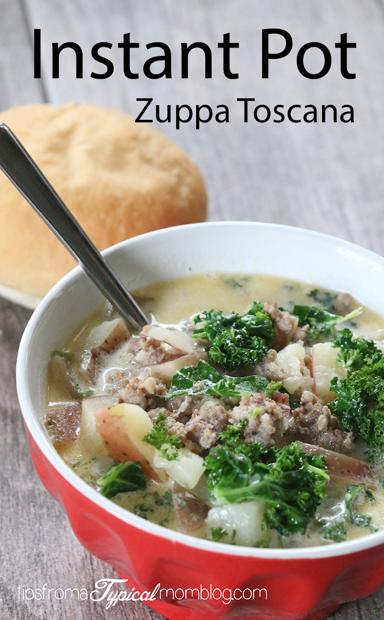Instant Pot Italian Sausage Potato Soup Aka Zuppa Toscana Tips From A Typical Mom