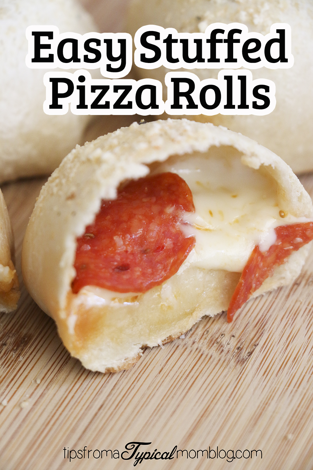 Easy Stuffed Pizza Rolls Made With Rhodes Roll Dough Tips From A