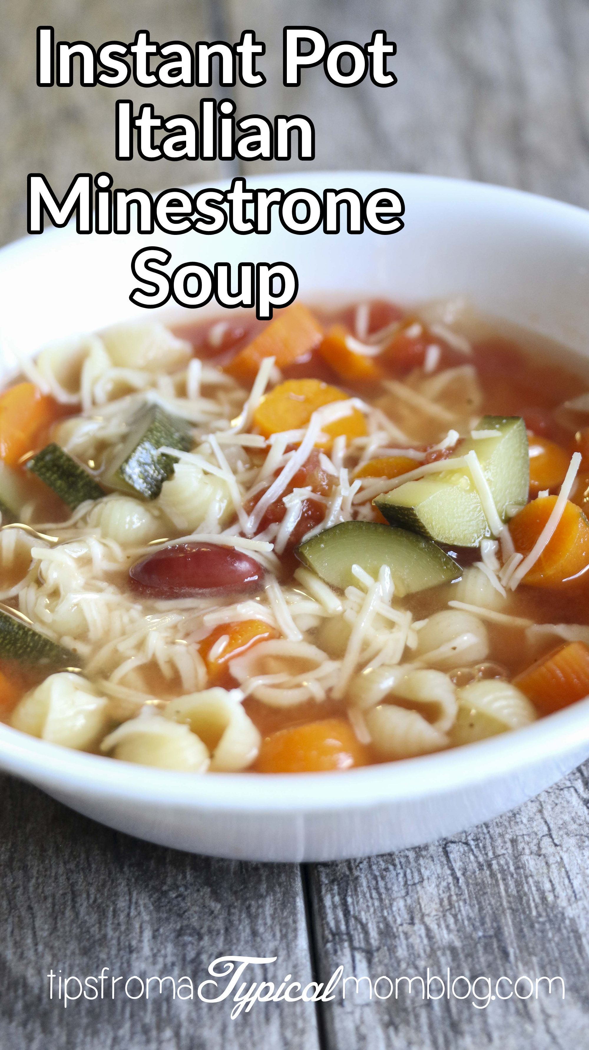 Instant Pot Italian Minestrone Soup Recipe Tips From A