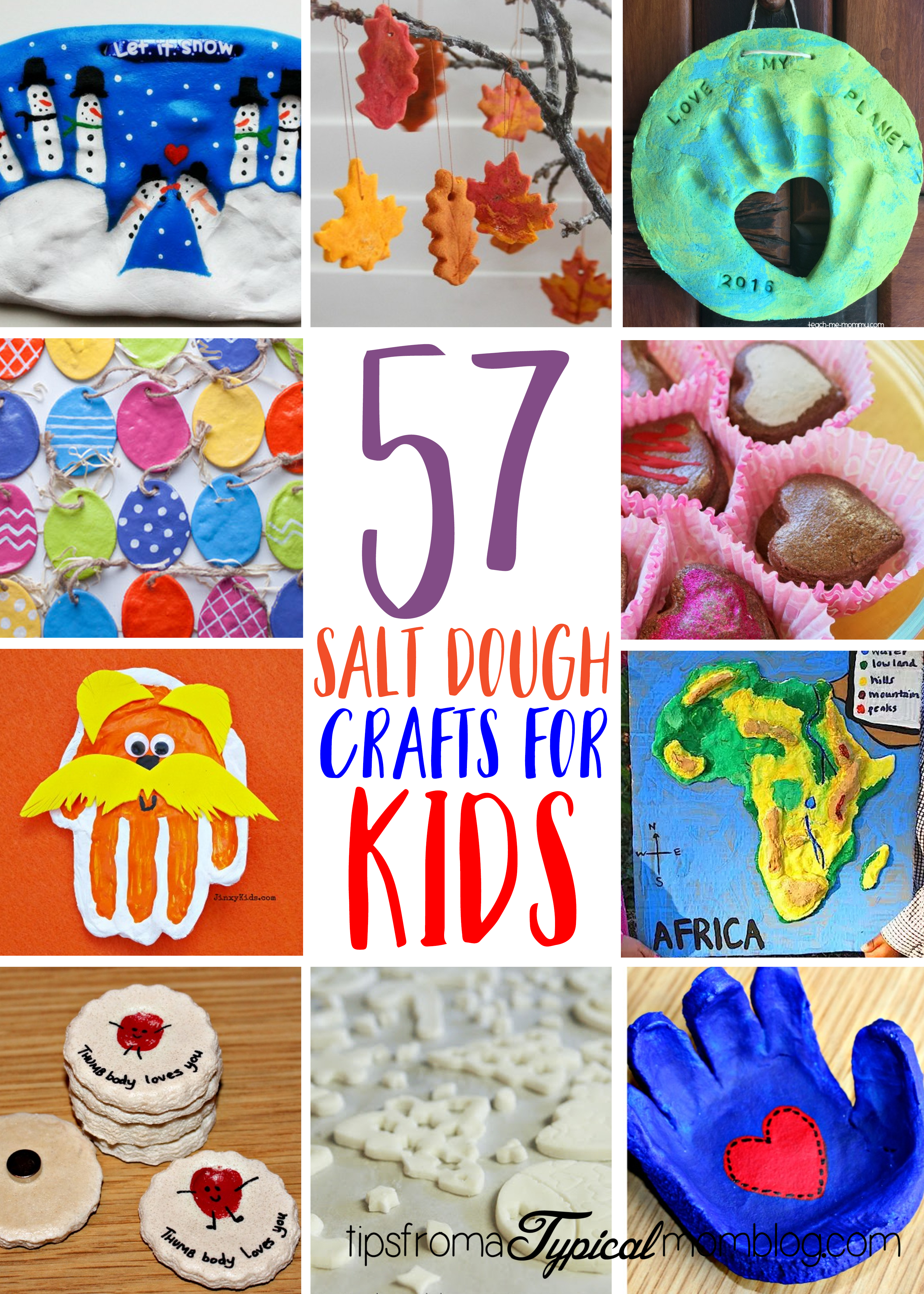 57 Fun Things To Make With Salt Dough For Kids Tips From